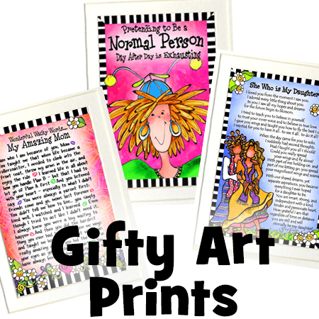 art prints button