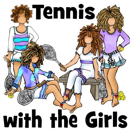 Tennis collection - button