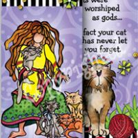She Who Loves Her Cat – Bookmark