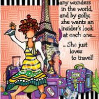 She Who Loves to Travel – Bookmark