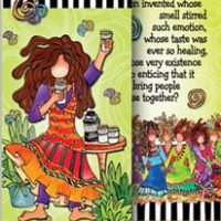 She Who Loves Coffee – Bookmark