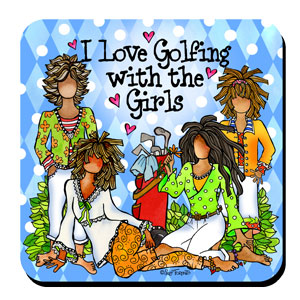 golfing with the girls coaster