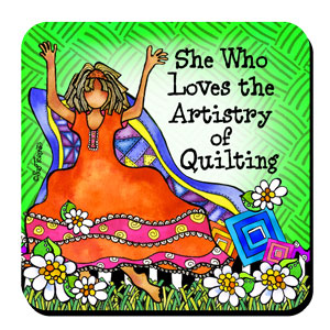 Quilting ARTISTRY coaster