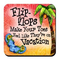 Flip-flops Make Your Toes Feel Like They're on Vacation – Stainless Steel Tumbler
