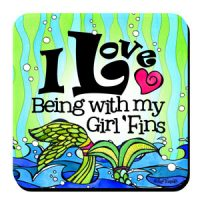 Assorted 4 Pack (Divas of the Deep) – Coasters (LIMITED QUANTITIES))
