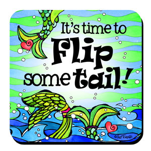 It's time to Flip some tail (Divas of the Deep) – Coaster