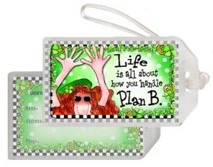 Plan B Bag Tag