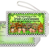 The Gathering of the Irish Goddesses — being Irish was never been so much fun (Irish/Celtic)  – Bag Tag