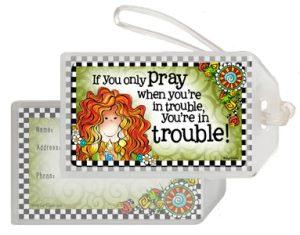 Pray - bag Tag