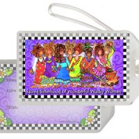 The Sacred Sisterhood of Wonderful Wacky Women (8 girls) – Bag Tag