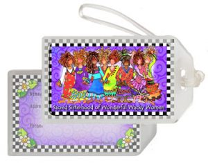 Sacred Sisterhood - bag tag