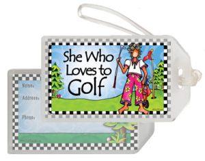 Golf - Bag Tag