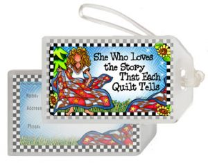 Quilt STORY - Bag Tag