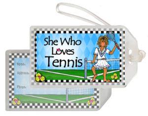 Tennis - Bag tag