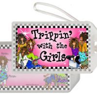 Trippin' with the Girls – Bag Tag