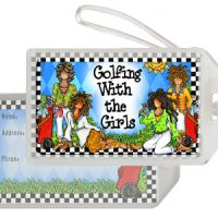 Golfing with the Girls – Bag Tag