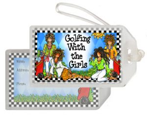 Golfing with the Girls - Bag Tag