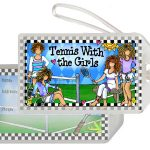 Tennis with the Girls – Bag Tag