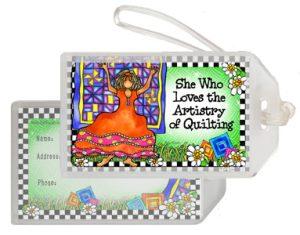 Quilt ARTISTRY - Bag Tag