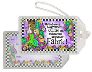 Magnificent Fabric - Bag Tag