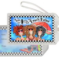 We Are the Beach Babes – Bag Tag