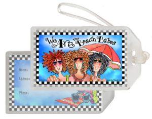 Beach Babes - Bag tag