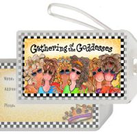 Gathering of the Goddesses – Bag Tag
