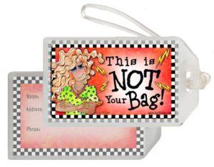 Hissie Fit - Bag Tag