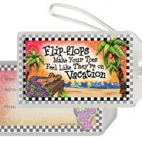 Flip-flops Make Your Toes Feel Like They're on Vacation – Bag Tag