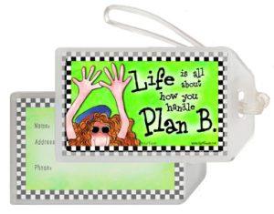 Plan B - Bag Tag