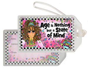 Age is Nothing - Bag Tag