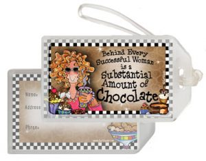 Chocolate - Bag Tag