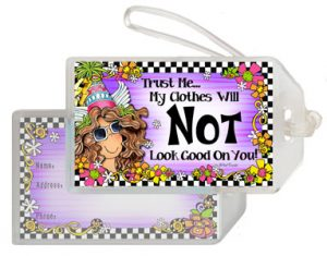 Not your Clothes - Bag Tag