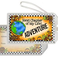 Next Chapter of My Life: ADVENTURE – Bag Tag