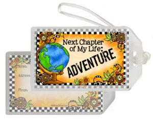 Adventure - Bag Tag