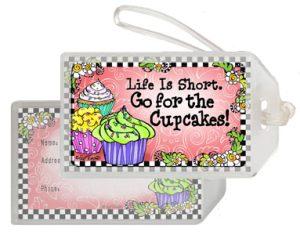 Cupcakes - Bag Tag
