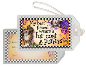 Best Friend Cat - Bag Tag