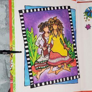 Sacred sisterhood of wonderful wacky women - inside page