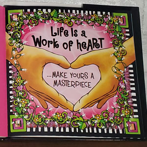 Life Worth Loving Book - inside page
