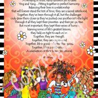 "They Who Celebrate the Sacred Sisterhood (5 girls) – 8 x 10 Matted ""Gifty"" Art Print"