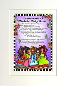 Sacred Sisterhood Art Print matted