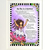 "She Who is a Survivor – 8 x 10 Matted ""Gifty"" Art Print"