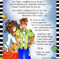 """He Who is My Son – 8 x 10 Matted """"Gifty"""" Art Print"""