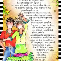 """He Who is My Son-In-Law – 8 x 10 Matted """"Gifty"""" Art Print"""