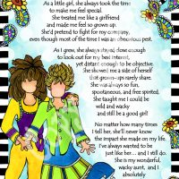 "She Who is My Aunt – 8 x 10 Matted ""Gifty"" Art Print"