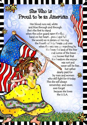 Loves America art print