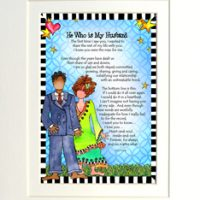 """He Who is My Husband – 8 x 10 Matted """"Gifty"""" Art Print"""