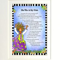 "She Who is My Niece – 8 x 10 Matted ""Gifty"" Art Print"
