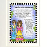 """She Who is My Stepdaughter – 8 x 10 Matted """"Gifty"""" Art Print"""