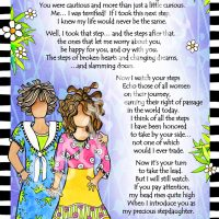 "She Who is My Stepdaughter – 8 x 10 Matted ""Gifty"" Art Print"